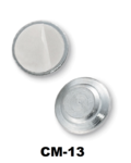 Magneet disk, kleine rond magneetje bestaande uit 1 stalendisk met een magneetje ingekapseld en 1 verzinkt plaatje met kleefstr