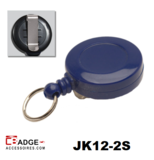 JK12-2S Mini jojo voorzien van riemclip blauw