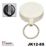 JK12-6S Mini jojo voorzien van riemclip wit