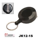 JK12-1S Mini jojo voorzien van riemclip zwart