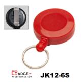 JK12-6S Mini jojo voorzien van riemclip rood