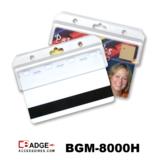 Halve kaarthouder. Magneetstripkaart door kaartlezer halen zonder uit de houder te halen. Extra beschermt en eenvoudig in gebru