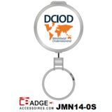 Op aanvraag metaal jojo voorzien van logo