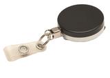 Metaal jojo zwart/chroom staalkabel versterkt bandje