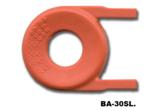 KeyLock badgehouder voorzijde helder horizontaal_