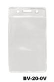 Color Top verticale vinyl kaarthouder TRANSPARANT