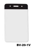 Color Top verticale vinyl kaarthouder ZWART