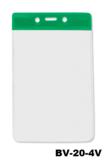 Color Top verticale vinyl kaarthouder GROEN
