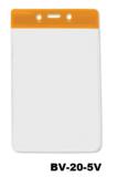 Color Top verticale vinyl kaarthouder ORANJE