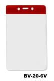 Color Top verticale vinyl kaarthouder ROOD