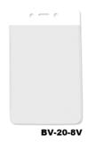 Color Top verticale vinyl kaarthouder WIT