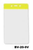 Color Top verticale vinyl kaarthouder GEEL