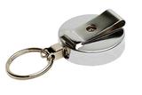 Metaal jojo Achterzijde chroom sleutelring