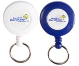 Clip on jojo riemclip sleutelring logo bedrukking