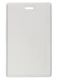 Soepele transparanten vinyl kaarthouder afsluitbaar met jojo, lanyard of clip. Extra veilig en beschermt opgeborgen in proximit