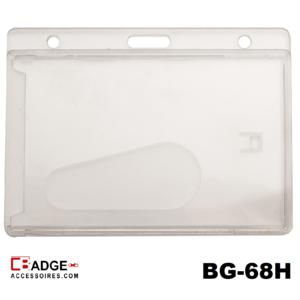 Badge CK Standaard mat transparant horizontaal
