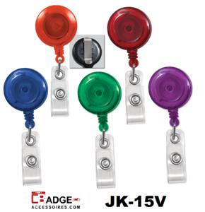 Clip on jojo riemclip doorzichtige kleur