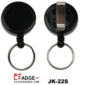 Clip on jojo medium riemclip & sleutelring (logo ruimte 25 mm)
