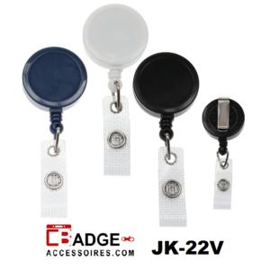 Clip on jojo riemclip medium (logo ruimte 25 mm) versterkt bandje