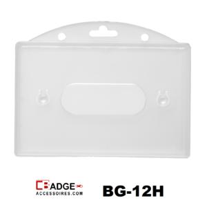 Badge Standaard voorzijde helder horizontaal