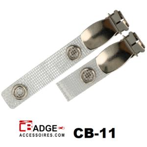 Badgeclip bretel-klem versterkt bandje