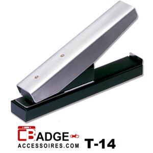 Perforator tang tafelmodel ovaal clipgat