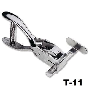 Hand perforator tang maatschuif ovaal clipgat