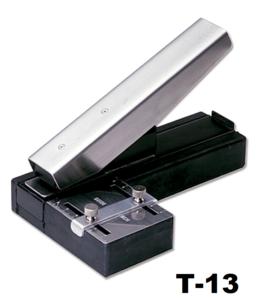 Perforator tang maatschuif