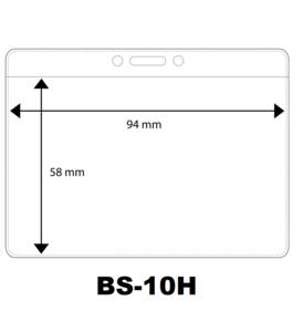 Vinyl badge soft horizontaal creditkaartformaat