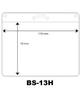 Vinyl badge soft horizontaal (74 X 110 mm)