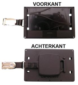 CardCase magneetstrip inclusief jojo & bretelclip