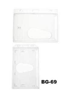 Badgehouder Cardkeep Standaard voorzijde helder