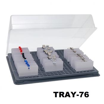 Badge tray 76 pasjes