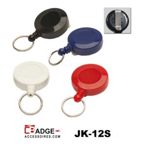 Clip on jojo met riemclip en sleutelring diverse kleuren