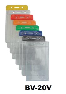 Color Top verticale vinyl kaarthouder