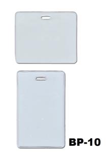 Soepele transparanten vinyl kaarthouder afsluitbaar met jojo, lanyard. Extra veilig en beschermt proximity kaart