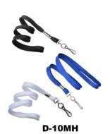 buisvormig gevlochten lanyard functioneel, licht en comfortabel in dragen. Draagkoord is 10 mm breed en 914 mm lang voorzien va
