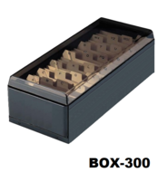 Metalen kaartenbox